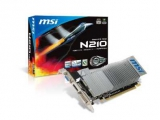 VGA GEFORCE N210-MD1GD3H/LP GT210 1GB/DDR3 PCIE MSI 3ÉV